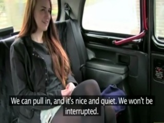 Euro girlnextdoor pussylicked by cab driver free