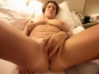 Chubby Big Tits Masturbating