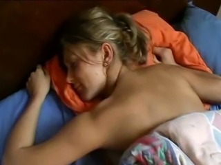 Amateur Homemade Sleeping Wife