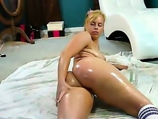 Ass European  Oiled