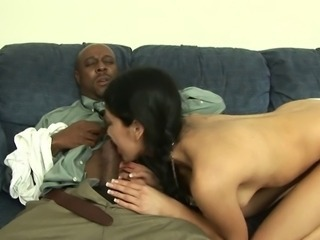 Hairy Brunette Getting Smashed By Not Her Dad
