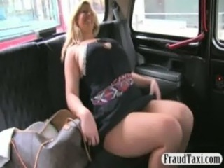 Horny amateur MILF creampie jizzed by the taxi driver free