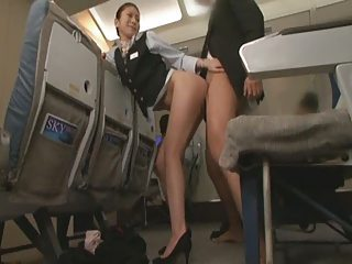 Handjob Airline SP   Sex Airline SP Part 5