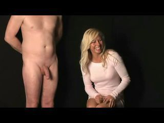 :D SHE TOUCH HIS DICK!!