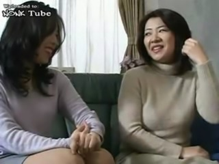 Asian Daughter Japanese Mom Old and Young