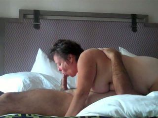 Amateur  Blowjob Homemade Mature Older Wife