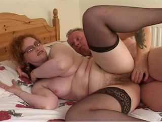 Busty Mom In Stockings Banged & Cummed