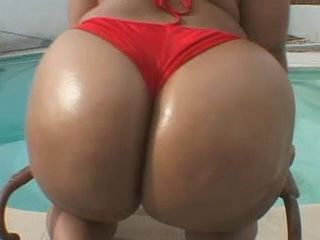 Big Ass by the pool