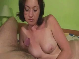 Maya&amp,#039,s Handjobs Guy Cums Twice