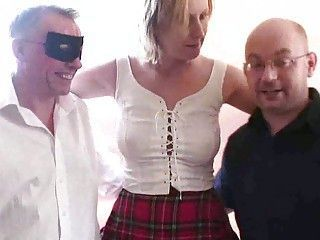 Filming 2 guys shafting my wife