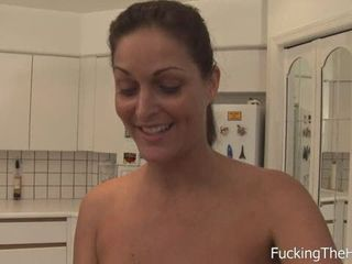 Maid Cleans Cock With Her Mouth