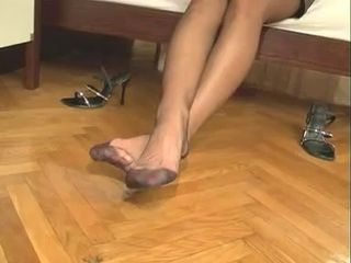 Feet Stockings Wife