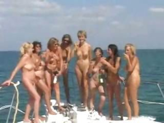 Amateur Drunk  Nudist Outdoor Party