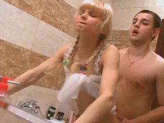Bathroom Doggystyle Sister Teen