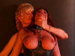 Mature Nina Hartley bondage enjoyment from is hot
