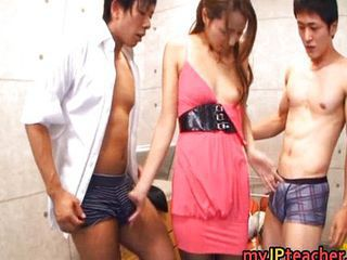 Asian Gangbang Japanese Threesome