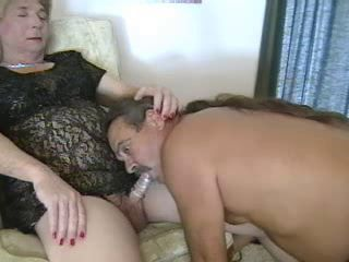 Granny Tranny Loves To Drag inflate Fuck 1