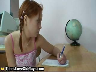 Cute Mature Redhead Teacher Teen