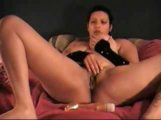 Amateur Chubby Masturbating Pussy Toy