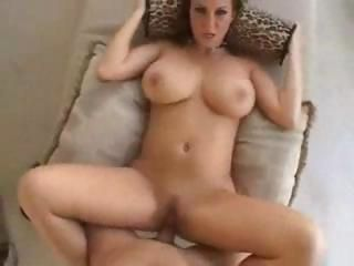 Big naturals brunette suck and fuck pov style