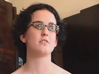 Amateur Glasses Hairy Teen
