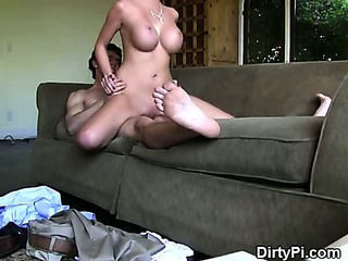 Blonde Cheater Riding Cock Like a Cowgirl On Hidden Camera