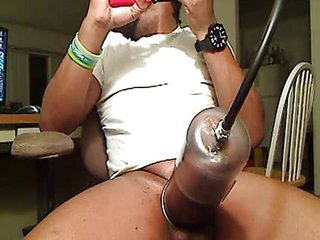 Extreme Huge Black Pumped Dick