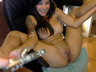 Webcam Wet Dildo Orgasm