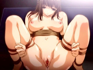 All tied hentai girls brutally gangbanged