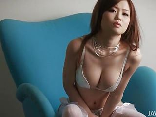 Asian Babe Big Tits Cute Japanese Lingerie Natural