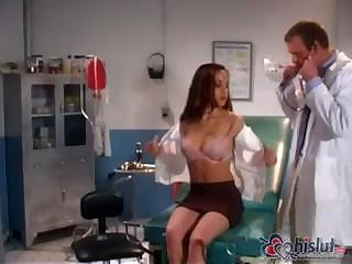 Nasty Doctor Examines Pretty Girl`s Exact Body And Fucks Say no to A Minute L...