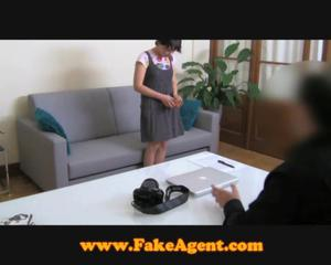 Fakeagent 18 Year Old First Time Facial