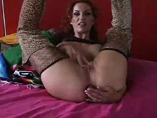 Masturbating  Redhead Webcam