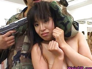 Army Asian Forced Hardcore Japanese Teen