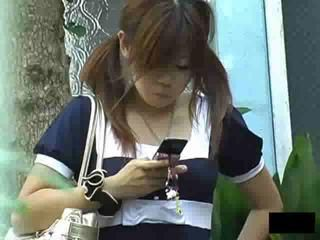 Asian Public Teen Voyeur