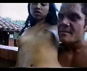 Latina Outdoor Small Tits Teen