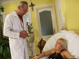 Old Doctor Fucks Teen Patient