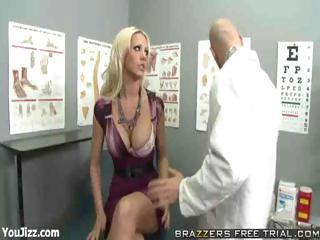 Amazing Big Tits Doctor  Pornstar