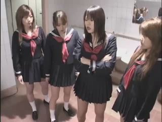 Asian School Slave Teen Uniform