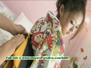 Iori Mizuki Innocent Lovely Japanese Girl Gets Nipples Licked And Posi...