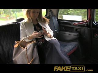Faketaxi Dirty Horny Blonde Fucked Over Taxi Bonnet