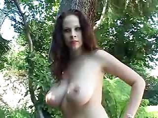 Big Tits Creampie Outdoor