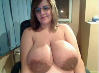 Very Big Tits On Webcam