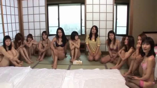 Japanese Group Making love