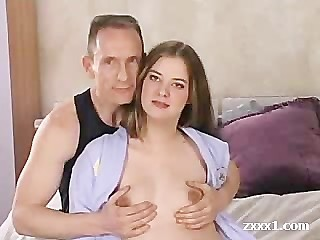 Young Pregnant Chicked Fucked By Older Man Less Anal Creampie