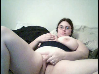 Grosse Titten Brille Masturbierend Allein Teen  Webcam