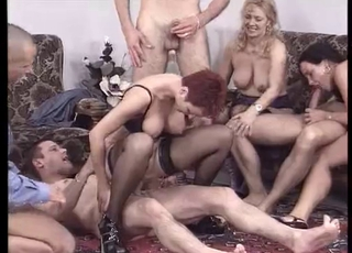 German Milf Invites People For Group Sex