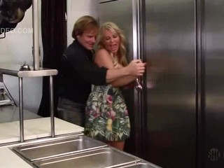 Orit Shuckroon Gets Banged In The Kitchen