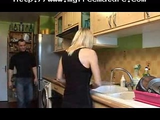 French Mom In The Kitchen Mature Mature Porn Granny Old Cumshots Cumsh...