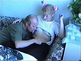 Drunk Daddy Fucks Step Daughter